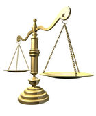 Scales Of Justice Perspective — Stock Photo