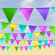 Fairground Bunting Front — Stock Photo