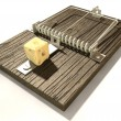 Stock Photo: Mousetrap With Cheese Perspective
