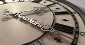 New York Minute Clock Hands — Stock Photo