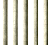 Justice Columns Front — Stock Photo