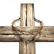 Crucifix With A Crown Of Thorns — Stock Photo #20174385