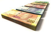 New South African Rand Notes — Stock Photo