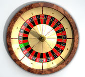 Roulette Wheel Close Top — Stock Photo
