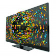3D Television Concept Isolated - Stock Photo