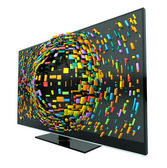 3D Television Concept Isolated — Stock Photo