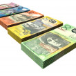 Australian Dollar Notes Collection - Stock Photo