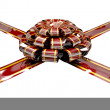 Stock Photo: Christmas Ribbon and Bow