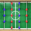 Stock Photo: Foosball Table Top View