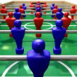 Stock Photo: Foosball Table Perspective