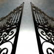 Heavens Open Ornate Gates — Stock Photo