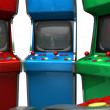 Stock Photo: Arcade Game Machine Unbranded