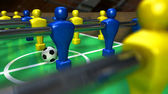 Foosball Table Closeup — Stock Photo
