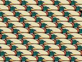 真鴨のコラージュ — Stockfoto