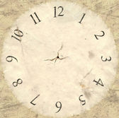 Antique Watch Face Backing — Stock Photo
