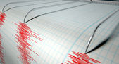 Seismograph Earthquake Activity — Stock Photo