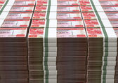 Hong Kong Dollar Notes Bundles Stack — Stock Photo