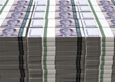 Norwegian Krone Notes Bundles Stack — Stock Photo