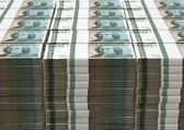 Swedish Krona Notes Pile — Stock Photo