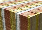 Rand-notizen-stapel — Stockfoto
