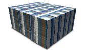 Swiss Franc Notes Bundles Stack — Stock Photo