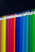 Set of colored pencils — Stock Photo