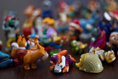 Collection of toys — Stock Photo