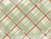 Christmas Squared Background With Snowflake. — Stock Vector
