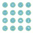 Set of travel icons. — Image vectorielle