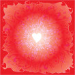 Royalty-Free Stock Imagen vectorial: Background with hearts