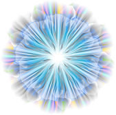 Tenderness light flower — Stock Vector