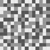 Abstract grayscale pixel background seamless — Stock vektor