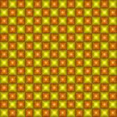 Geometric pixel pattern. Vinage. Seamless — ストックベクタ