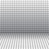 Background with a perspective grid. — Stock Vector