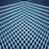 Abstraktní modrá vektorové pozadí šablony — Stock vektor