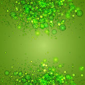 Abstract Green Background, vector illustration — Stock vektor