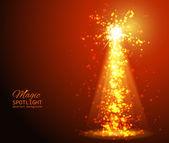 Abstract Sunburst ardent background. — Stock Vector