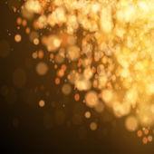 Złote tło uroczysty boże narodzenie. — Wektor stockowy