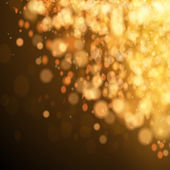 Fondo de navidad festiva oro. — Vector de stock