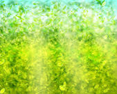 Grönt tyg textur bakgrund. — Stockvektor