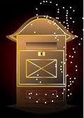 Poštovní schránka — Stock vektor