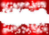 Red Christmas background — Vecteur