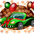 Festive car — Vettoriale Stock #19819949