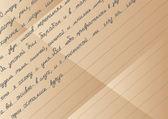 Gamla brev — Stockvektor
