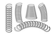 Set of springs — Stock Vector