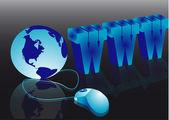 Internet kavramı — Stok Vektör