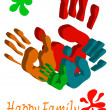 Royalty-Free Stock Vector Image: Happy family