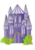 Fairytale kale — Stok Vektör