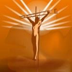 Crucifix — Stock Vector