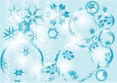 Sfondo blu festiva — Vettoriale Stock
